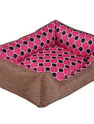 Colored Washable Pet Dog Bed Soft Pet Product