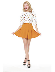 Polyester Sexy/Casual - Mini - Vrouwen - Rokken