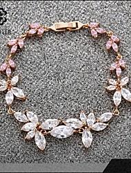 Sjeweler Girls Lady's Latest Style Colorful Zircon Bracelet