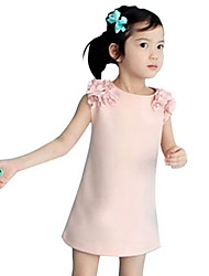 BHL Wholesale Kid Grils Fashion Sleeveless Cosplay Dress Summer Style Girl  Dresses (Cotton/Blend) For SZ 2-6 Y