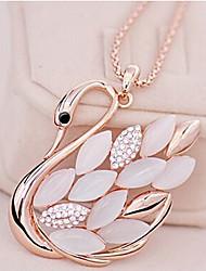 Ожерелье Ожерелья-бархатки / Ожерелья с подвесками / Ожерелья-цепочки / Заявление ожерелья Бижутерия Для вечеринок / Повседневные Мода