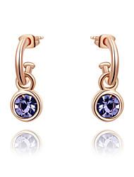 z & x® boucles d'oreilles en cristal autrichien / strass goutte mariage / fête / jour