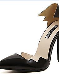 Calçados Femininos - Saltos - Saltos - Salto Agulha - Preto - Courino - Casual