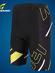 Getmoving Men's Cycling Bottoms 1/2 Tights High Breathability Quick Dry/Anatomic Design/Compression