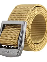 rockway® los hombres al aire libre de nylon militar fuerte cinturón de vestir