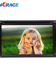 6.2inch universelle 2 DIN in-dash bil dvd-afspiller med bt, rds, touch screen, ATV, rl-257dnar03