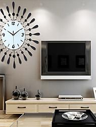 reloj de pared de hierro moderna