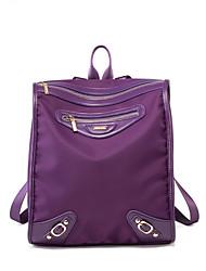 la nouvelle coréen imperméable sac à dos de loisirs Voyage en tissu sac à dos en nylon maman pourpre sac à dos