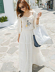 Two-piece Bohemian Bress Dress