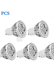5pcs MORSEN® GU10 3W 200-250LM Support Dimmable Light LED Spot Bulb