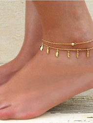 Women's Anklet/Bracelet Alloy Unique Design Tassel Fashion Costume Jewelry Jewelry Jewelry For Party Daily Casual Beach