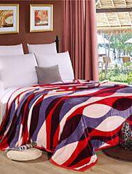 aiwode®comforter padrão da moda macio simples espessamento ficar quente cobertor de flanela