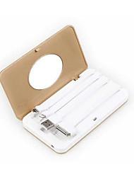 де дзи 1000mah привело мульти-вывода зеркало Power Bank внешний аккумулятор для iphone6 / Samsung и других мобильных устройств