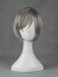Prison School Meiko Shiraki Gray Special 30cm Cosplay Wigs