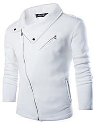 MEN - Felpe con e senza cappuccio - Informale A camicia - Maniche lunghe Cotone / Raion