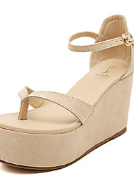 Women's Shoes  Wedge Heel Wedges Sandals Casual Beige