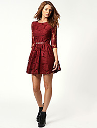 CNB    Women's Vintage/Sexy/Casual/Lace/Party Dresses (Lace)