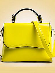 inleela®women 's pu bolsa de hombro baguette / asas - púrpura / amarillo / rojo / negro
