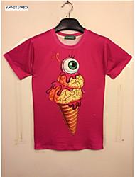 Hot New Summer Fashion Men's Short Sleeve 3D Print T-shirt Leisure Jacket Casual Tops(M-XXL)