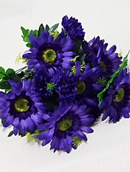 High Quality Artificial Flowers, Bright Colors, Used For Decoration