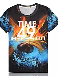 Women's High Quality Personality Generous Summer Breathable 3D Style T-shirt——3D Eye