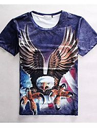 Women's High Quality Creative Personality Fierce Summer Breathable 3D Style T-shirt——The Eagle