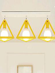 rente europa moda montar três luz 220v cor de metal norte simples moderno