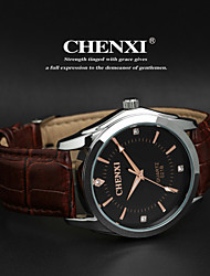 CHENXI®Men's Classic Business Style Leather Strap Quartz Watch Cool Watch Unique Watch