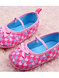 Zapatos de bebé - Sneakers a la Moda - Casual - Tejido - Rosa / Morado