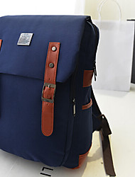 Women 's Canvas Sling Bag Backpack - Blue/Green/Red