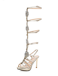 Women's Shoes high Heels Rhinestone Gladiator sandals shoes