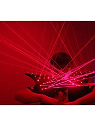 roupas vermelhas colete a laser, fatos levaram a laser, laser de homem figurinos para artistas de boate