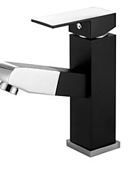 PHASAT® Widespread Single Handle One Hole in Painting Bathroom Sink Faucet
