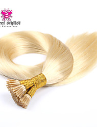 25 Bonds Stock Light Color Mongolian Remy Stick Tip Hair Extensions 20 inch I Tip Hair Extensions NEW!!!