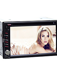 Quad-Core Universal Car DVD Player for Nissan Android4.4 2 Din 6.2 inch 800 x 480Built-in Bluetooth/GPS/RDS/WIFI