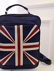 Mitesi Women'S Pu Union Jack Shoulder Bag