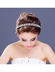 Women's / Flower Girl's Rhinestone / Alloy Headpiece-Wedding / Special Occasion / Casual Headbands 1 Piece Clear
