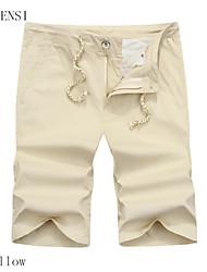 5 uomini nuovi pantaloni cinque pantaloni di cotone spiaggia di estate pantaloni casual da uomo pantaloni marea coreano breve lavaggio