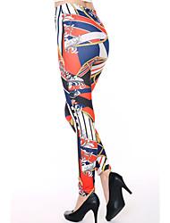 Women's Pop Print Stretch Adult Leggings
