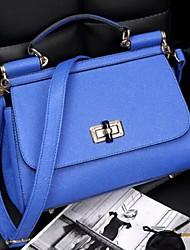 Women's The New Korean Leather Bag Lock