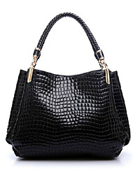 Meiqi Women'S  New Fashion Crocodile Handbag Pu Handbag