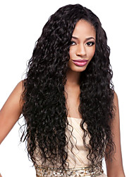 Unprocessed Virgin Mongolian Curly Wigs Glueless Lace Front Human Hair Wigs for Black Women Lace Front Wigs Baby Hair