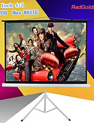 4 polegadas redgoldleaf 120: 3 tela do projetor portátil com suporte