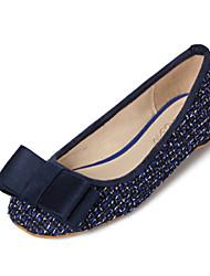 Women's Shoes Flat Heel Comfort Flats Outdoor Blue/Red