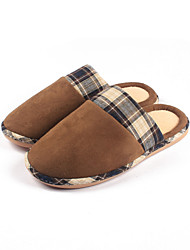 Men's Shoes Outdoor/Office & Career/Casual Slippers Gray/Tan