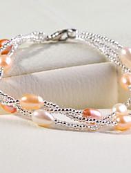Damen Strang-Armbänder Perle Perle Schmuck Für Hochzeit Party Alltag 1 Stück
