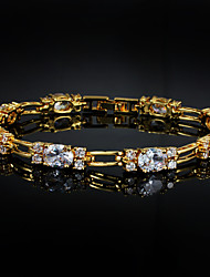 Hot Selling Products Party Gold Plated Link/Chain Bracelet Women's/Girl's Jewelry