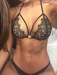 Women's 2015 New Sexy Lace Triangle Swimwear Bikini
