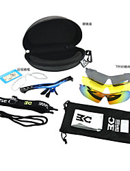 Basecamp Polarized TR90 Material Cycling Glasses with 3 lens Outdoor Sports Bicycle Sunglasses BC-102C