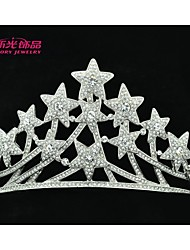 Neoglory Jewelry Star Tiaras Crystals Crowns Bridal Hair Accessories Women Wedding Jewelry Headpeice Headband